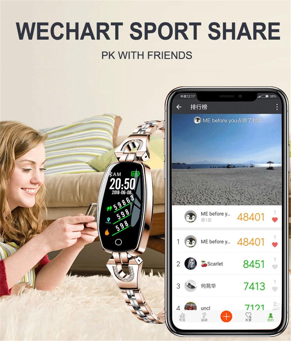inteligente pressão arterial esportes smartband