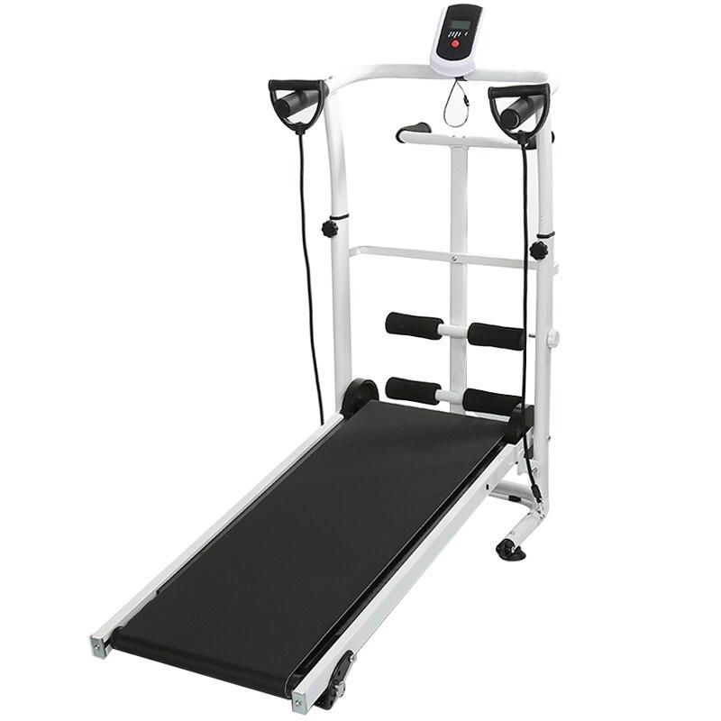 3 en 1 Multi fonctionnel mécanique tapis roulant maison Gym intérieure course Fitness entraînement exercice Machine tapis roulant HWC - 4