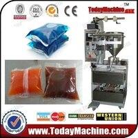 relay Automatic sachet water/juice/milk/yogurt/vinegar/ liquid bag forming filling sealing packing machine