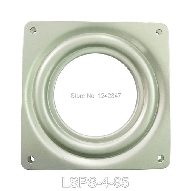 95mm 25kg Load Lazy Susan Dining Table TV Deck Turntable Hotel Desk Home Furniture Rotary Bearing Chair Bracket Swivel Plate