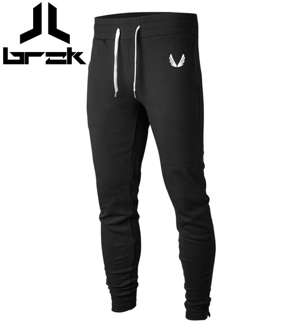 Men GASP&GOLDS Pants Casual Elastic cotton Mens Fitness Workout Pants skinny,Sweatpants Trousers Jogger Pants