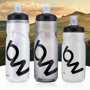 Bicycle Water Bottle MTB Cycling Camping Cycling Bicycle Plastic Flask Outdoor Bike Kettle Riding Cup 620/750ml Dropshipping 750ml non toxic odorless aluminum alloy sports water bottles cycling camping bicycle bike kettle outdoor riding sports kettle