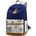 Brand Design Floral Backbag Canvas School Backpack for Teenager Girls Laptop Bagpack Women Printing Backpack Student Rucksack