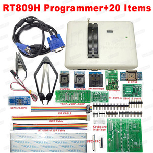 Image 3 - 100% oryginalny RT809H EMMC nand flash programista + 55 przedmioty z BGA48 BGA63 BGA64 BGA169 Adapter RT809H EMMC nand flash TSOP48