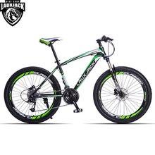 LAUXJACK Горный велосипед стальная рама 24 скорости Shimano механические дисковые тормоза 26″ колеса