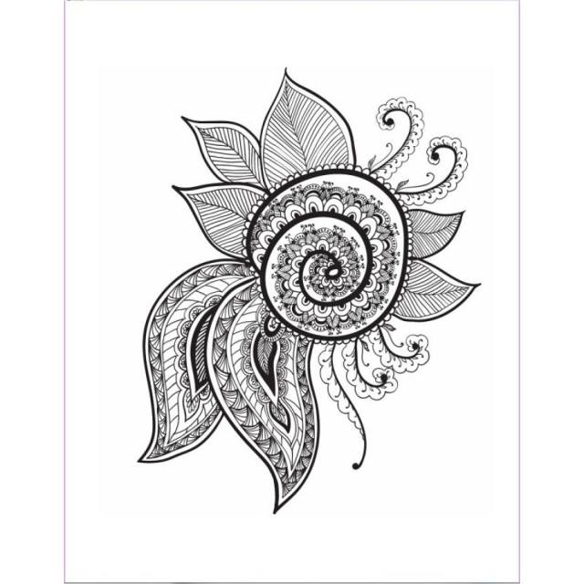 Online Shop Let Color Reach The Soul antistress coloring book for ...