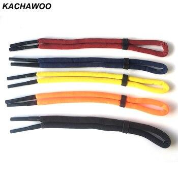 Kachawoo adjustable floating sunglasses strap for men women foam anti-slip swimming glasses strap sport cord unisex black blue