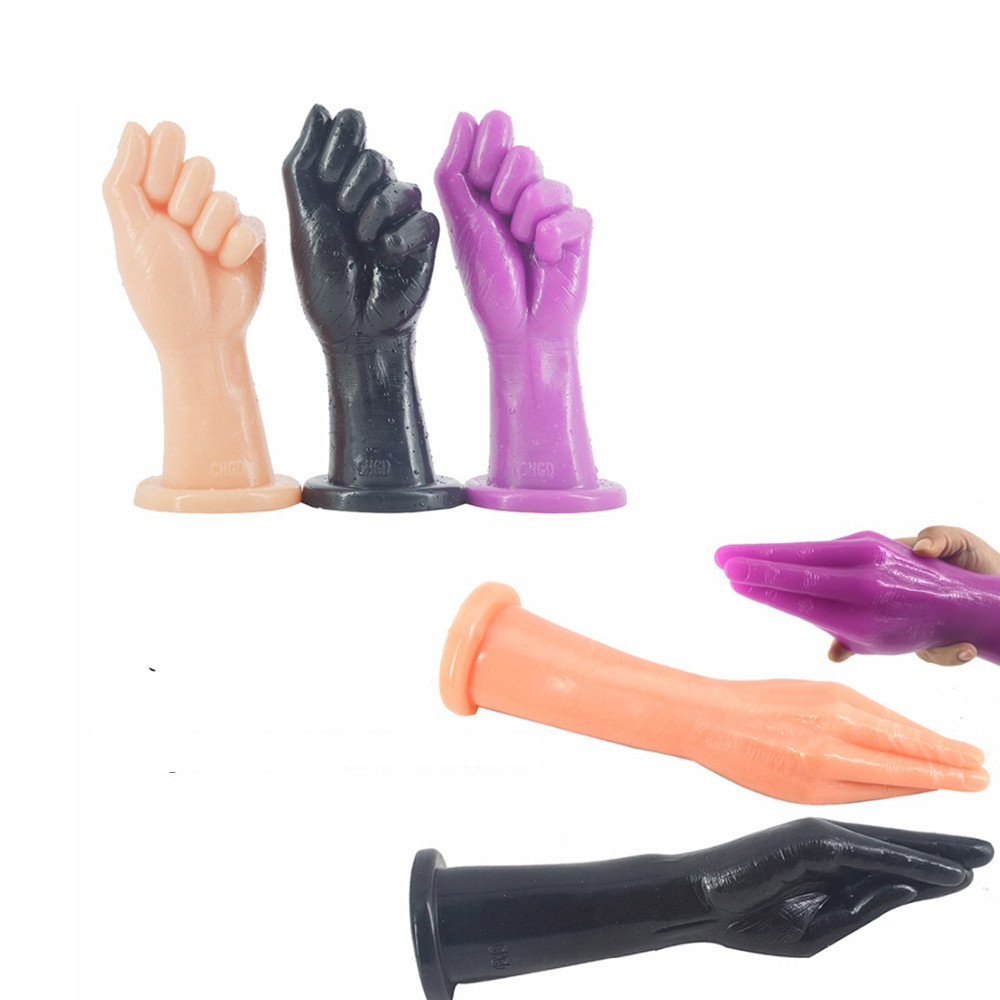 FAAK Newest  2 Style  Huge Fist Sex Dildo Long Fist Joint PVC Anal Toy Male Female Couples Loving Toy 3 Color Available for SaleFAAK Newest  2 Style  Huge Fist Sex Dildo Long Fist Joint PVC Anal Toy Male Female Couples Loving Toy 3 Color Available for Sale