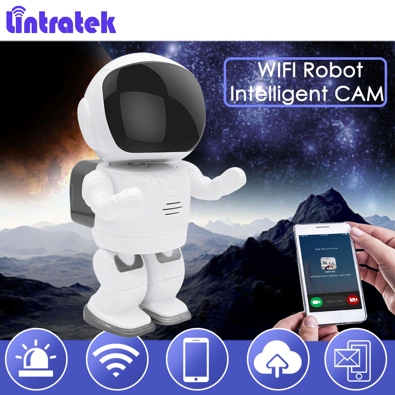Lintratek Robot Camera IP Wifi Baby Monitor 960P Wireless CCTV Surveillance Home Security Camera IR Night Vision Camara IPcam 39 howell wireless security hd 960p wifi ip camera p2p pan tilt motion detection video baby monitor 2 way audio and ir night vision