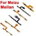 Nuevo para meizu mx2 mx3 mx4 mx4 pro mx5 pro 5 meilan 2 3 nota 2 Nota 3 Metálica Lateral de Volumen Interruptor de encendido apagado Flex Clave Cable
