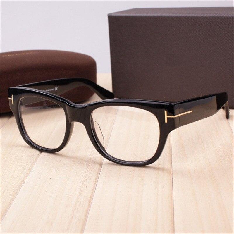 fd656170653 Vazrobe Acetate Glasses Frame Men Women Eyeglasses Frame Thick Prescription  Spectacles Vintage Man Transparent Brand Lens