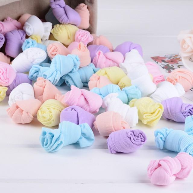 2 זוגות של ילדים של גרבי קיץ דק סעיף ילדי של יכול לבחור צבעים בוהקים גרבי קיץ תינוק גרבי תינוק צבעוניים