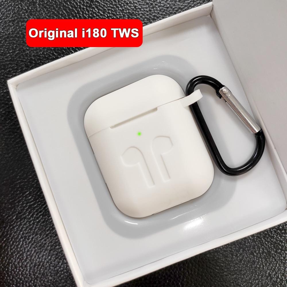 I180 TWS 1:1 Replik Air 2 Pop up Separaten verwenden Drahtlose Kopfhörer QI Drahtlose Aufladen i180tws PK w1 H1 chip i80 TWS i60 i100