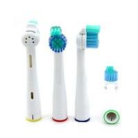ovonni 4 шт. очистить головки для зубных щёток sensiflex hx2012sf глубокой очистки для замены электрические зубные щётки головок