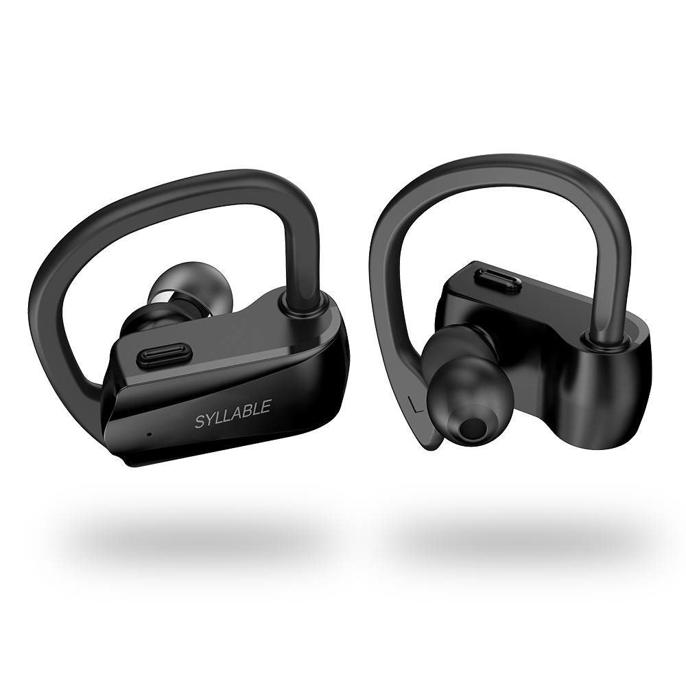 Syllable D15 Wireless Bluetooth V 5.0 Earbuds with Mic True Wireless Stereo Noise Cancelling SYLLABLE D15 Headsets Sweatproof