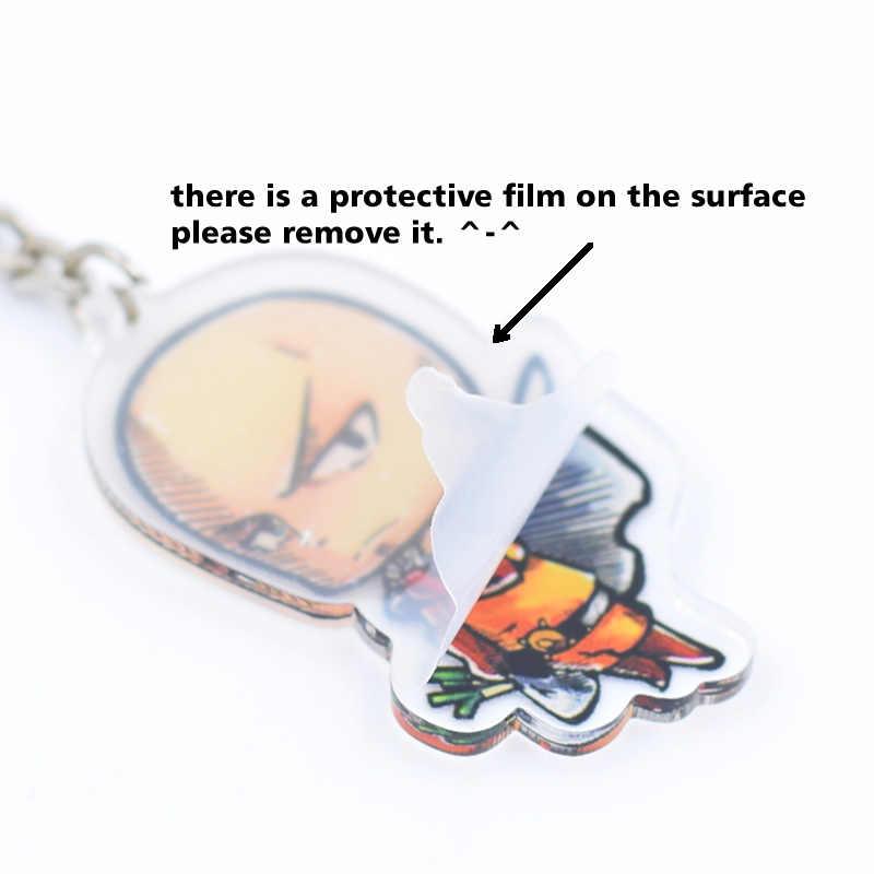 7 стилей My Hero Academy брелок двухсторонний Chibi мультфильм брелоки милые аниме акриловые ключи Chians аксессуары PCB111-117