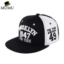 1947 Brooklyn Style Baseball Cap letter Sport Hat Gorras Planas Snapback Caps New York Hip Hop Hats Snapbacks Casquette Polo Cap цена