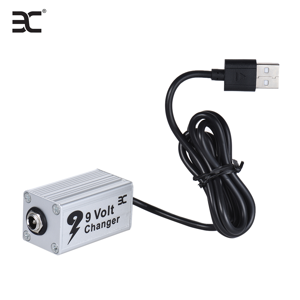 eno evc 1 guitar effect power supply voltage converter usb booster 5v to 9v used with power bank. Black Bedroom Furniture Sets. Home Design Ideas