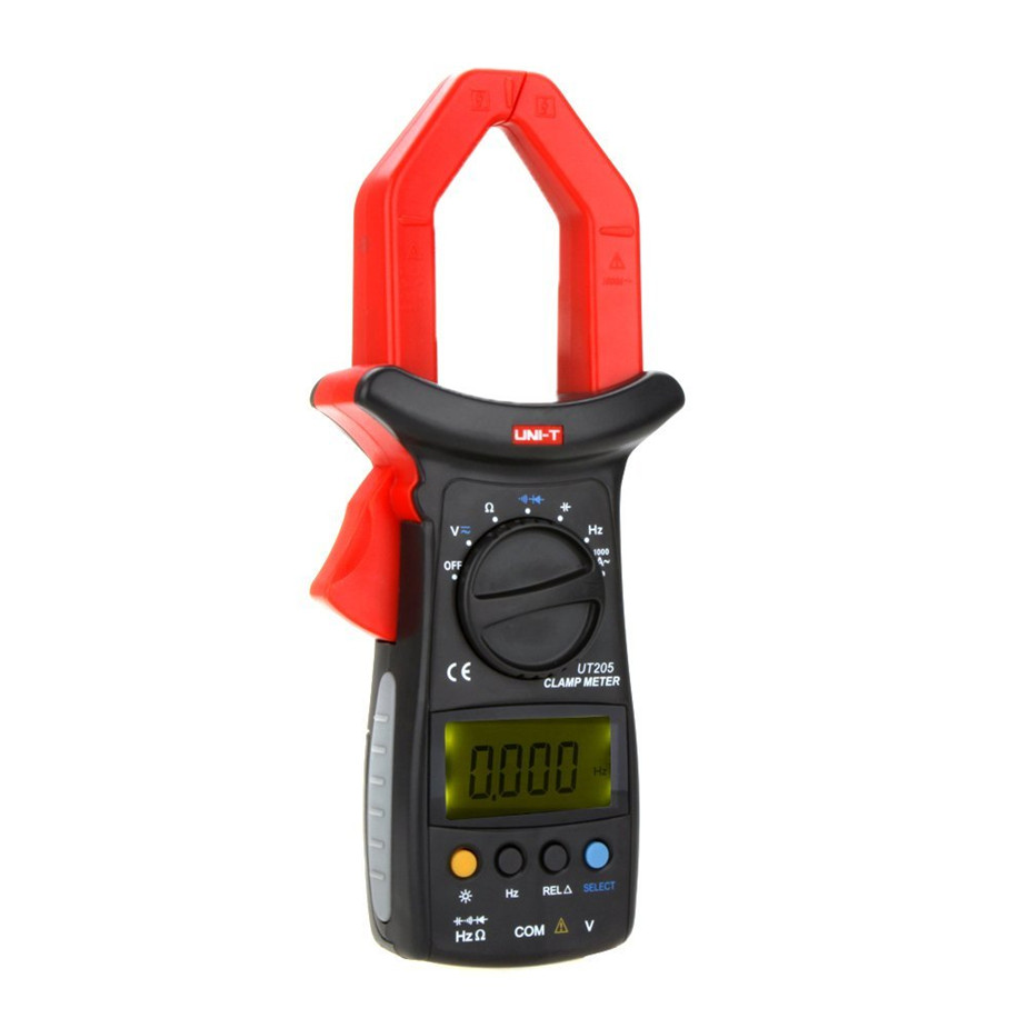 UNI-T UT205 Ture RMS Auto/Manual Range Digital Handheld Clamp Meter Multimeter AC/DC voltage ACA Test Tool цена