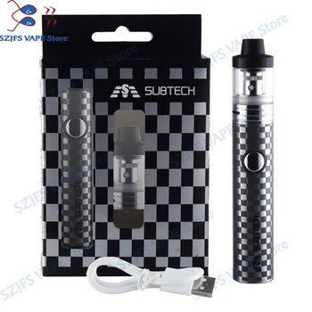 цена на S22 60W e-cigarettes vape mod 1800mah battery with 2.5ml atomizer 0.3/ 0.5 ohm tank vape pen electronic cigarette kit Avid Lyfe