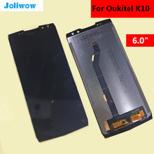 6.0 inch FOR OUKITEL K10 LCD Display+Touch Screen Assembly Replacement For OUKITEL K10
