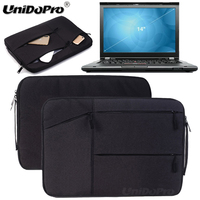 Unidopro Multifunctional Sleeve Briefcase Hangbag For Lenovo ThinkPad T420 14 Laptop Core I7 2640M Mallette Carrying