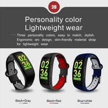 Smart Bracelet HR Fitness Tracker Wristband SleepTracker Waterproof IP68 Activity Band