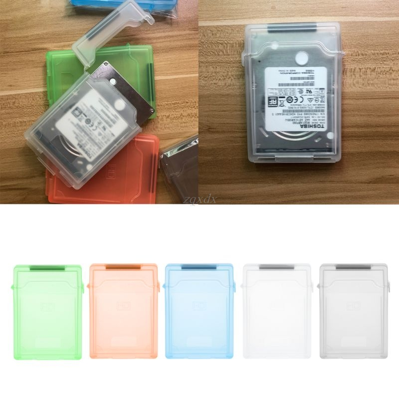 New 2.5 Inch IDE SATA HDD Hard Disk Drive Protection Storage Box Protective Cover Drop Ship