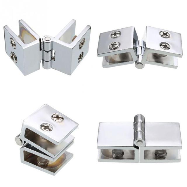 2018 New Cabinet Hinges Stainless Steel Door Double Action 180 Degree Gl Drawer Hinge For Furniture Hardware