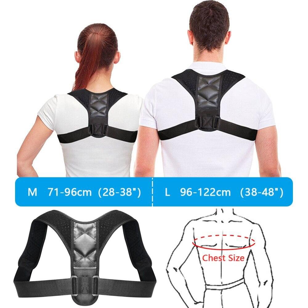 Medical Clavicle Posture Corrector Adult Children Back Support Belt Corset Orthopedic Brace Shoulder Correct  3