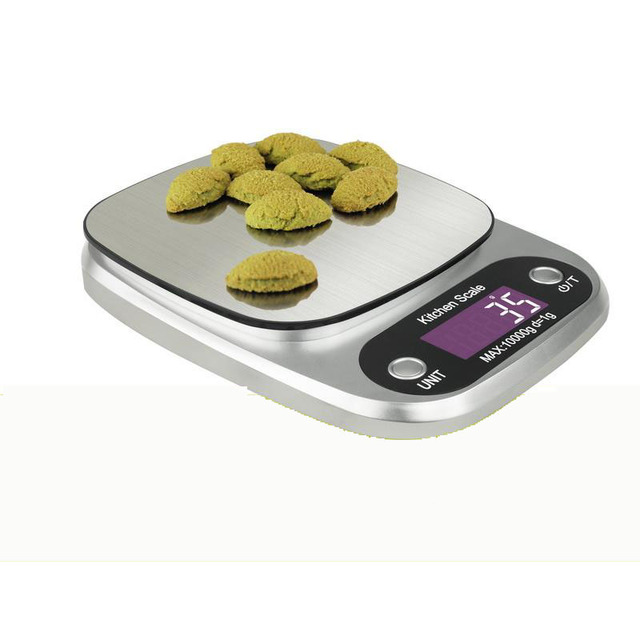 Kitchen Scales Staining Cabinets Cooking Tool Stainless Steel Electronic Weight Scale Food Balance Cuisine Precision 5kg 1g Drop Shipping
