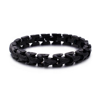 Cool Man Stainless Steel Dragon Grain Bracelets Punk Stainless Steel Bracelets For Men Pulseira Jewelry