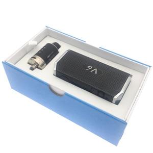 Image 5 - New Electronic Cigarette 40W 80W 100W Adjustable Vape Mod Huge V6 kit 2200mah Battery 2ml 0.2ohm tank e cigarette Atomizer vapor