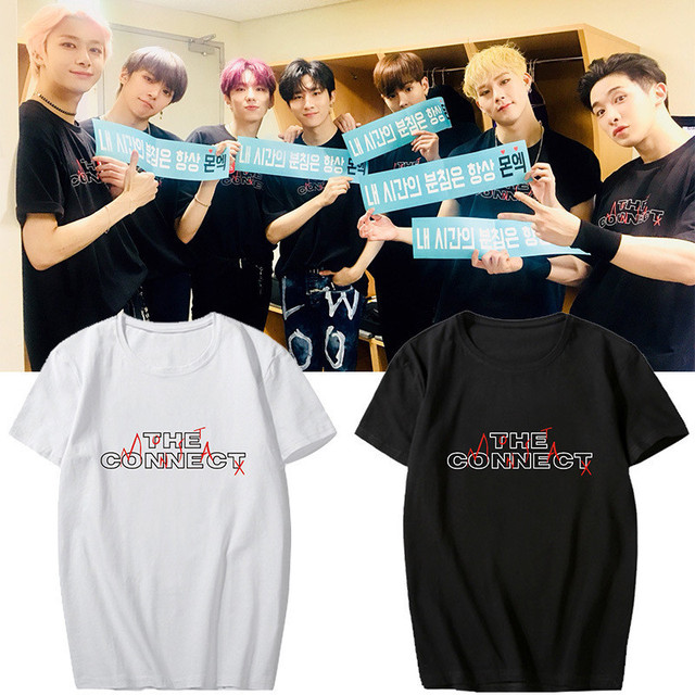 MONSTA X THE CONNECT T-SHIRT (4 VARIAN)
