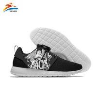 Men's Vulcanize Shoes Glitter Rock Band Queen Men Cool Streetwear Pop Rock Mens Shoes 3D Print Outdoor Leisure Mens Shoes