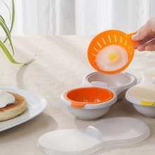 High Quality Steamed Egg Bowl Cook Poach Pods Egg Tools Microwave Oven Poached Baking Cup Cooking Kitchen Accessories