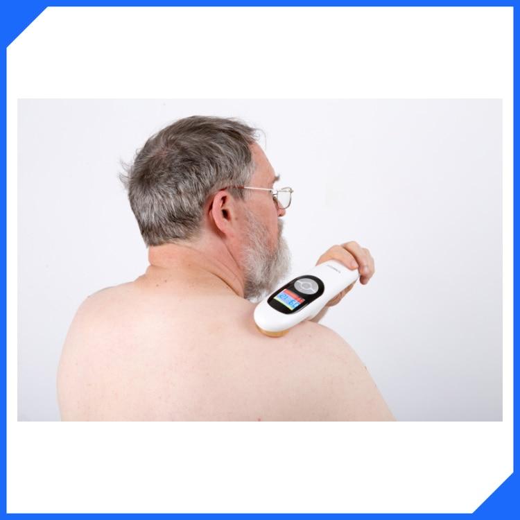 Hand Held Laser Pain Relief Device Laser Light Healing Pain 1 set dental heal laser diode rechargeable hand held pain relief device f3ww