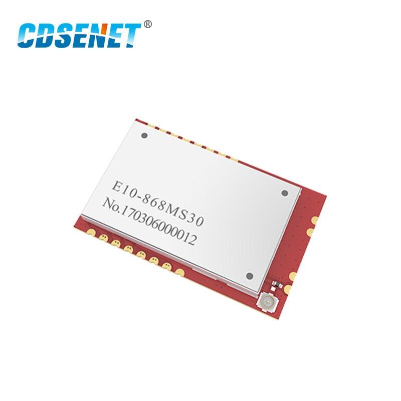 868MHz SI4463 SPI Wireless Rf Module Long Range Transceiver CDSENET E10-868MS30 SMD 6000M 1W Rf Transmitter And Receiver 868 MHz