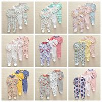 Baby pajamas cotton newborn bebe clothing 3pcs girls clothes unicorn rompers infants pajamas boys clothing toddler jumpsuit