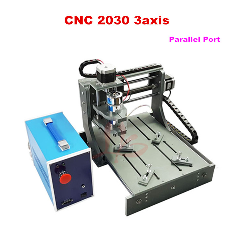 300w mini cnc router 3020 woodworking lathe 2030 for wood pcb pvc engraving kits