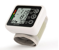 Health Monitor Sphygmomanometer Automatic Digital Wrist Blood Pressure Monitor Meter Cuff Blood Pressure Measurement