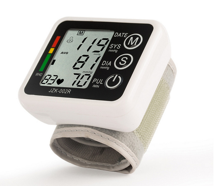 Wrist Blood Pressure Monitor Automatic Digital Tonometer Meter for Measuring Blood Pressure And Pulse Rate health care automatic wrist digital blood pressure monitor tonometer meter for measuring and pulse rate black