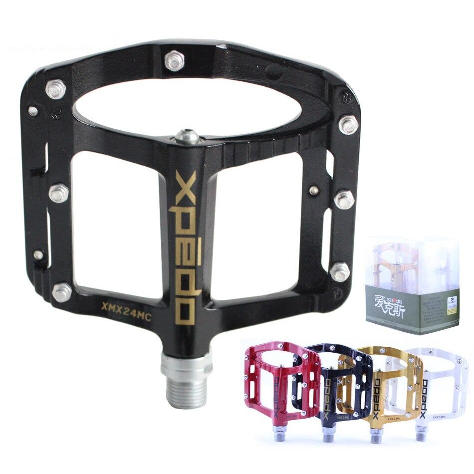 Pédales plates de vélo en alliage de magnésium pédales de vélo vtt pédale de VTT XMX24MC