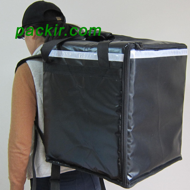 Pk 76b Thermal Delivery Bag Catering Carrier Rider Backpack 2
