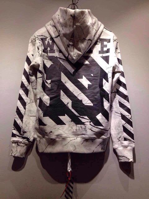 3e0722e5cebe Top Quality 2015 Off White Virgil Abloh Fashion Painting Hooded Pyrex  Vision Hoodie Cotton Men s New Leisure