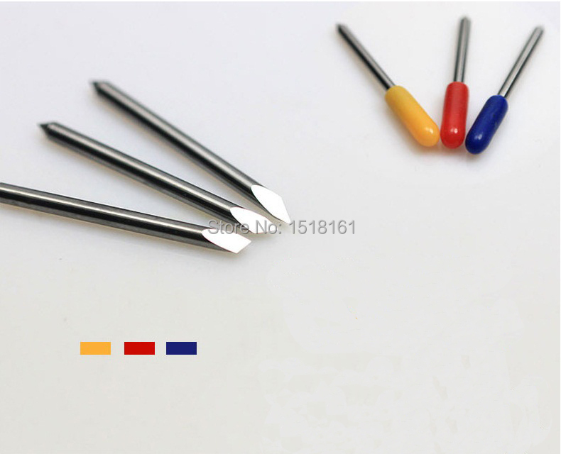 30 pcs 30 degree summa D blades cutting plotter vinyl cutter blade summa needle knife tool