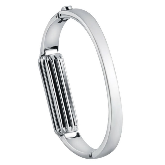 US $19 96  For Fitbit Flex 2 bracelet,Accessory metal band for Fitbit Flex  2,Fashion Steel Design Silver Color-in Smart Accessories from Consumer
