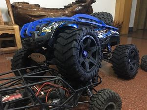 Image 5 - Wheels Waterproof wear resistant Tire RC Monster truck for TRAXXAS X MAXX X MAXX