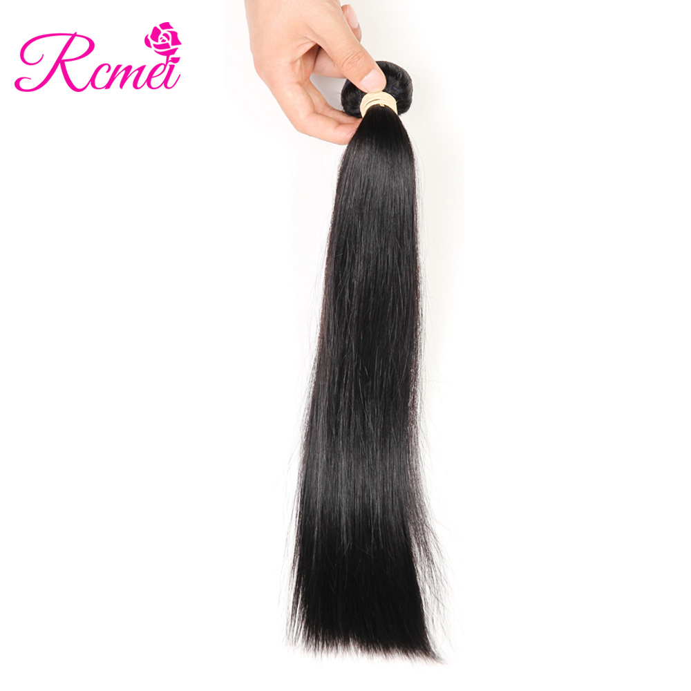 Human Hair Weaves Hair Weaves Sleek Hair Peruvian Straight Hair Weave One Bundles 8 To 30 Inches Extension 100% Remy Human Hair Bundles Can Buy 3 Or 4 Bundles