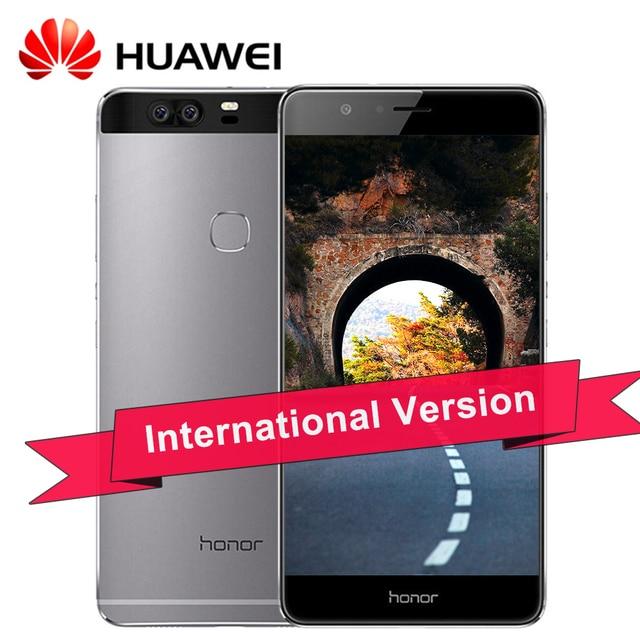 "Original HuaWei Honor V8 4G LTE Mobile Phone Octa Core Android 6.0 5.7"" 2K 2560X1440 4GB RAM 64GB ROM Fingerprint NFC"